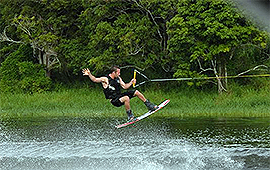 Lake Tinaroo Wakeboarding